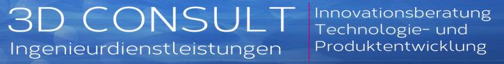 Logo 3D Consult